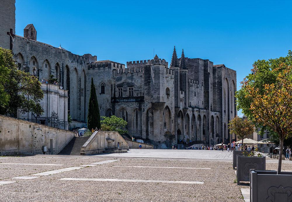 Palazzo dei Papi - Avignone in Camper - 2