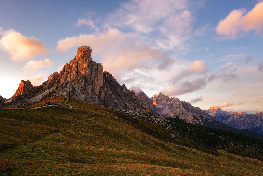 Passo Giau in Camper